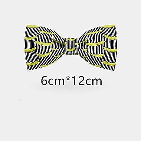 JEOSNDE Personalidad Plátano Impresión Digital Corbatas Vestido de ...