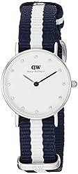 Daniel Wellington Women's 0928DW Classic Glasgow Analog Display Quartz Multi-Color Watch