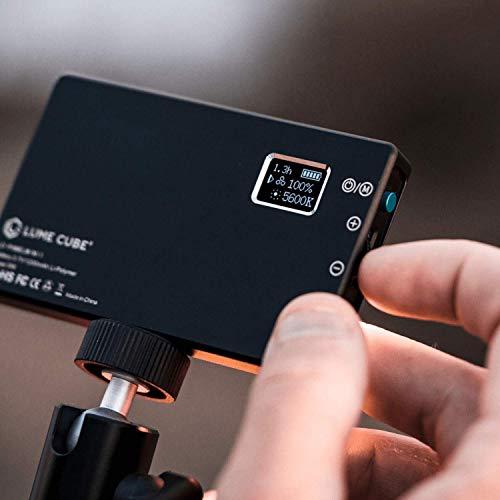 Lume Cube Panel Mini | Bicolor Continuous LED Video Light | Made for Content Creators | Photo and Video Lighting | Fits Sony, Nikon, Canon, Fuji, Panasonic