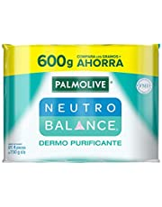4 piezas de Jabón de Tocador Palmolive Neutro Balance Dermo Purificante en Barra 150 G