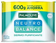 Palmolive Neutro Balance, Jabón de Tocador, Dermopurificante, Para toda la familia, Desintoxica la piel elimin