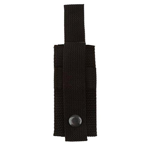 Polymer True Utility Outdoor Tactical EMT Medic Scissor Sheath Shears Pouch Canvas Pouch (Black)