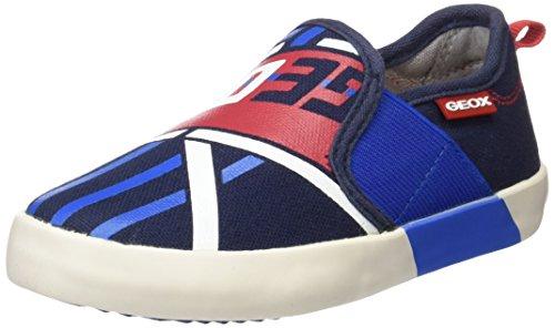 Geox Jr Kilwi Boy, Zapatillas para Niños Azul (Navy/Royal C4226)