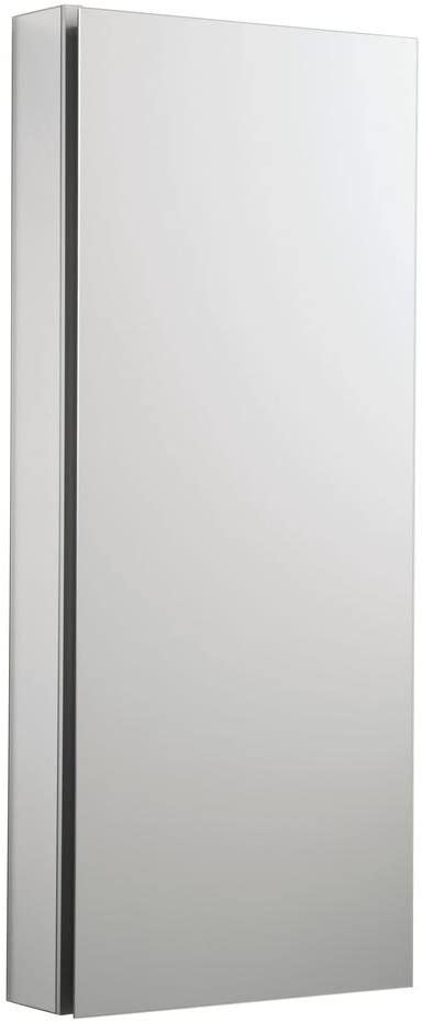 KOHLER K-2913-PG-SAA Catalan Mirrored Cabinet with 107 Hinge, 1, Satin Anodized Aluminum