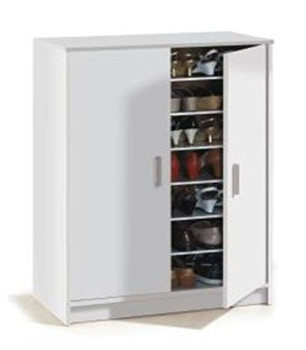 Sydney Large Shoe Cupboard Shoe Rack Storage Cupboard Shoe