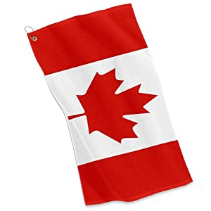 Amazoncom  Golf  Sports Towel  Flag of Canada  Canadian