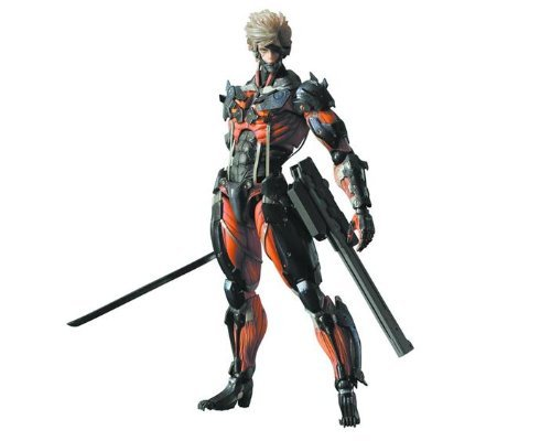 Square Enix Metal Gear Rising: Revengeance Play Arts Kai Raiden Action Figure(RED VERSION)