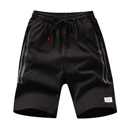 Giulot Men's Mesh Woven Graphic Shorts Basketball/Soccer/Gym/Hiking Drawstring Shorts Classic Quick-Dry Active Pants Gray