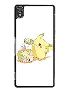 Caitlin J. Ritchie's Shop Sony Xperia Z3 Cover, Design Pokemon Theme [Non-Slip] Slim Fit Clear Back Cover for Sony Xperia Z3 7885500M536518739