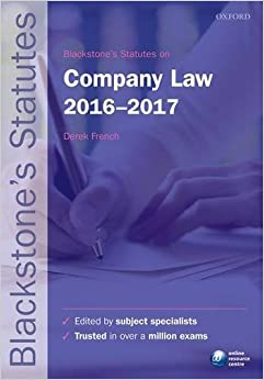 ^NEW^ Blackstone's Statutes On Company Law 2016-2017. explains afirmo State radio Import graphics entonces Access