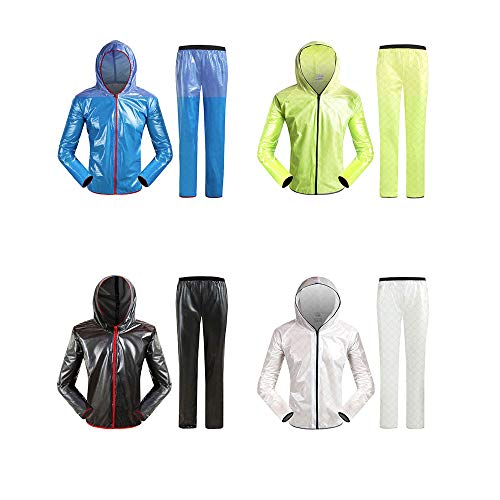 Size Size Size Bike Split Set Geyao Outdoor Outdoor Outdoor Outdoor Antipioggia Mountain Impermeabili Fruit Split Bicicletta per Green XXL Color Riding White Pantaloni UA0wqZ