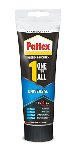 Pattex One for All Universal Tube, 80 g, transparent, PXFU8