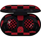 Skinit Red and Black Checkerboard Galaxy Buds Skin - Checkerboard Audio Decal - Ultra Thin, Lightweight Vinyl Decal Protection