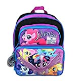 Hasbro My Little Pony Adventure Friendship Forever 16 Cargo Backpack