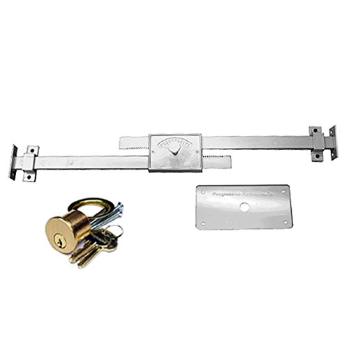 (Progressive Hardware DBL-01-36 Double Bar Police Lock)