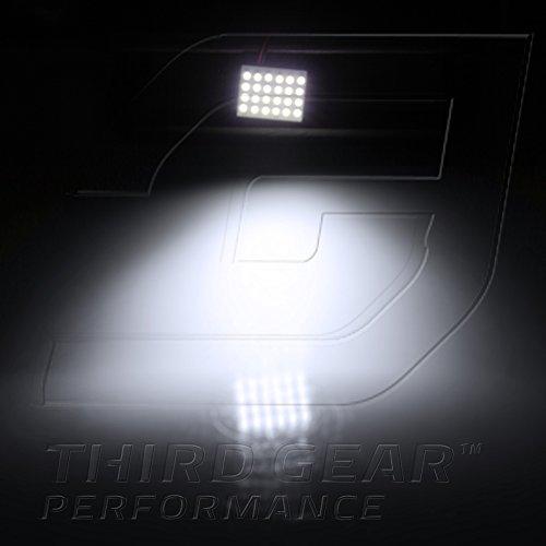 Optix TGP White 24 LED SMD Panel Light Bulb for Dome Light Application 2003-2012 Subaru Legacy (ALL)