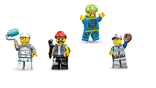 Best lego minifigures series 10 skydiver