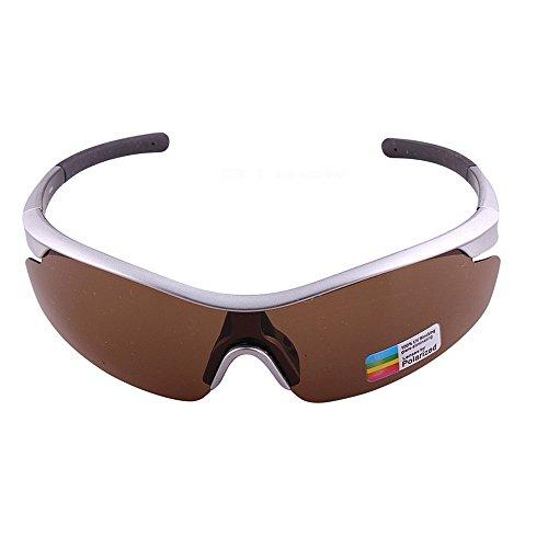 Polarizadas Gafas Deportivas Conducción Gafas Aire LBY Deportes De Gafas Color Brown Hombre Sol Libre Deportiva Al de Orange para Pesca 7xtqw