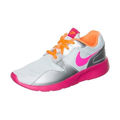 amazon com nike girls kaishi gs running shoes pink silver orange rh amazon com