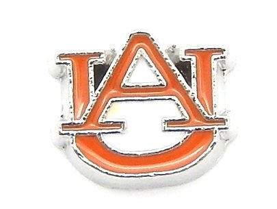 Tigers Tigers Basketball Pendant - Cherityne Auburn Tigers Athlete Team Logo Floating Charm for Locket Pendants