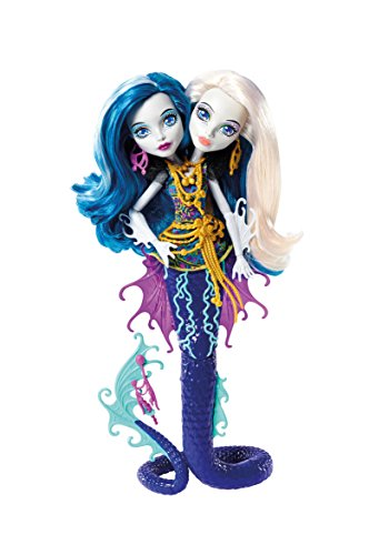 Monster High Great Scarrier Reef Peri & Pearl Serpintine Doll -