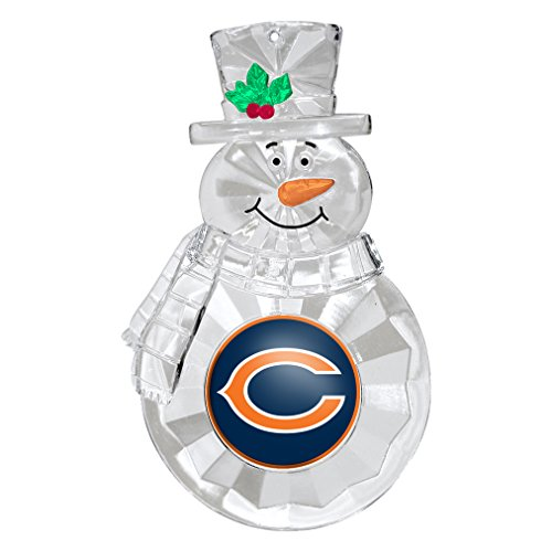 - NFL Chicago Bears Traditional Snowman Ornament