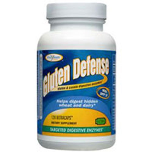 - Gluten Defense, 120 UltraCaps by Enzymatic Therapy (Pack of 5)