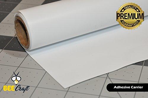 Vinyl 1 Roll - BEECRAFT Heat Transfer Vinyl Roll (WHITE) | 100% Ultra Matte PU HTV | 15.7