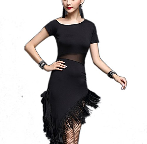[Whitewed 20S the Great Gatsby Halloween Costume Party Dresses Women Gifts Black, Black, Medium /] (1920s Halloween)