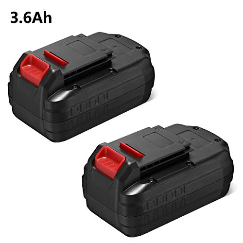 FirstPower PC18B for Porter Cable 18V Battery Replacement 3.6Ah PCC489N PC18BLEX PCMVC PCXMVC Compatible with 18 Volt Cordless Tools