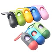 Chinatera Diaper Nappy Bag Dispenser Portable Holder for Disposable Garbage Refill Bags (Color Random)