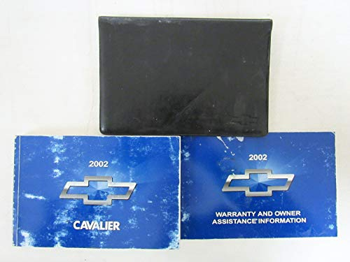 Chevrolet Cavalier Owners Manual - 2002 Chevy Chevrolet Cavalier Owners Manual