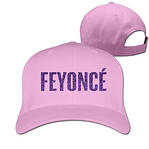 DETED FEYONCE Gold Letters Baseball Cap Hat Pink