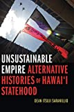 "Dean Itsuji Saranillio, ""Unsustainable Empire: Alternative Histories of Hawai'i Statehood"" (Duke UP, 2018)"