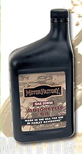 Motor Factory Case 12 Quarts Motorcycle Oil SAE 20W50 For Use In Harley ()