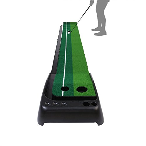 Golf Putting Mat, OUTAD Indoor / Outdoor Golf Putting Green With Auto Ball Return ()