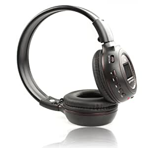 Wireless Headphone with FM Radio and MP3 Player, Supports MicroSD Card, High Quality Bass WST-N65