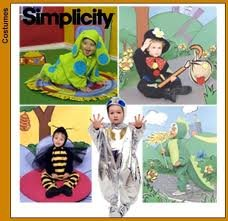 Dog Spaceman Costume (Simplicity 8814 Size A (1/2,1,2,3,4) Unisex Toddlers Costumes Dog, Hobo, Bee, Spaceman, Dragon)