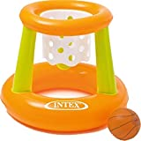 Intex Kids Swimming Pool & Aqua Fun Inflatable Floating Basketball Hoop Game