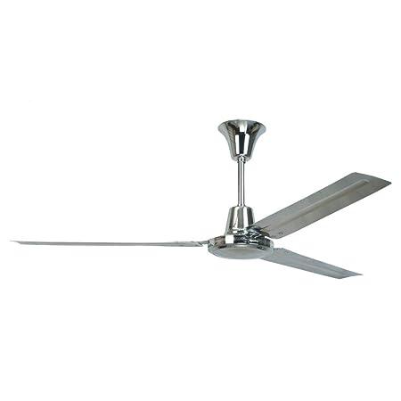 Sulion Ventilador de Techo 075151 Meteor Cromado: Amazon.es: Hogar