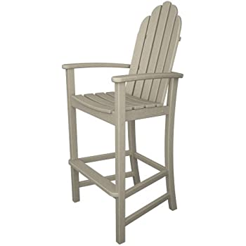 This item POLYWOOD Adirondack Bar Height Chair Sand
