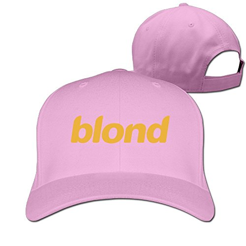 Unisex Sport Rapper Frank Ocean Album 2016 Blonde Snapback Peaked Hats&Cap Pink