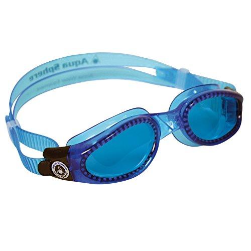 Lunettes de natation Kaiman Small Aqua Sport Bleu Bleu séchés