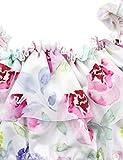 Newborn Baby Girls Swimsuit Ruffle Collar Floral