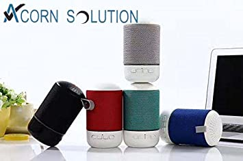 Acorn Bluetooth Speaker Sound core mini, Super Portable Speaker with 6 to  8-Hour Playtime, 10 Meter Bluetooth Range ,Micro SD support, USB support ,