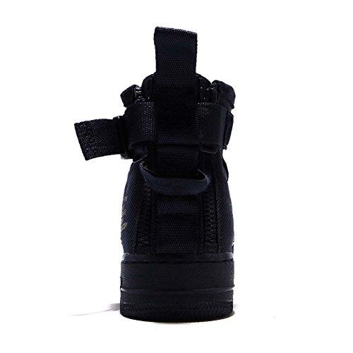 SF Pelle Nike Uomo Tessuto Black Obsidian 917753 Dunkelblau Scarpe Air 101 in Mid Wmns e 1 Bianco Force qpCtrpx