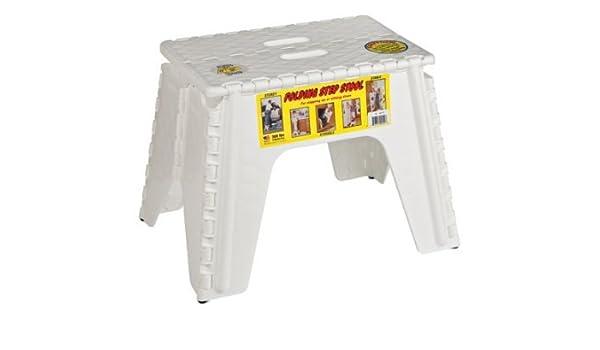 Strange Amazon Com B R Plastics 103 6Wh E Z Foldz White 12 Step Squirreltailoven Fun Painted Chair Ideas Images Squirreltailovenorg