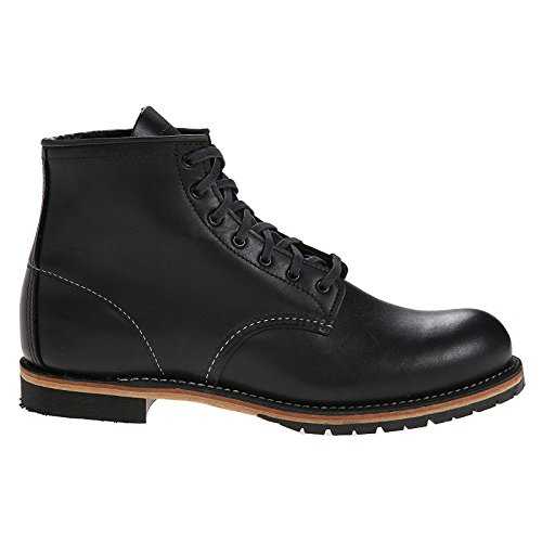 Red Wing Heritage Men's 6-Inch Beckman Round Toe Boot,Black Featherstone,11 D US (Red Wing Mens Iron Ranger 6 Boot)