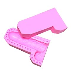 Aimyoo Sexy Cake Candy Soap Candle Mold Silicone B