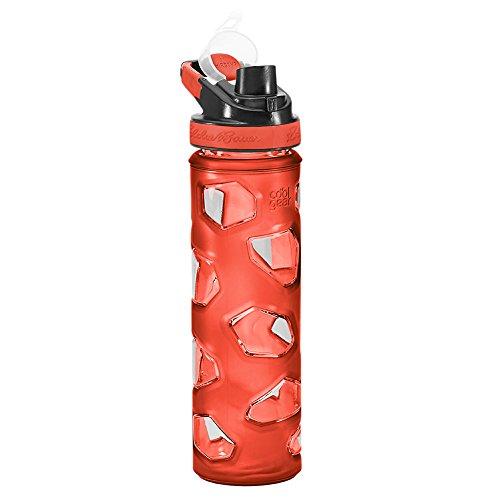 (Eddie Bauer Unisex-Adult Rocktagon 22 oz Bottle, Mandarin Regular ONESZE)